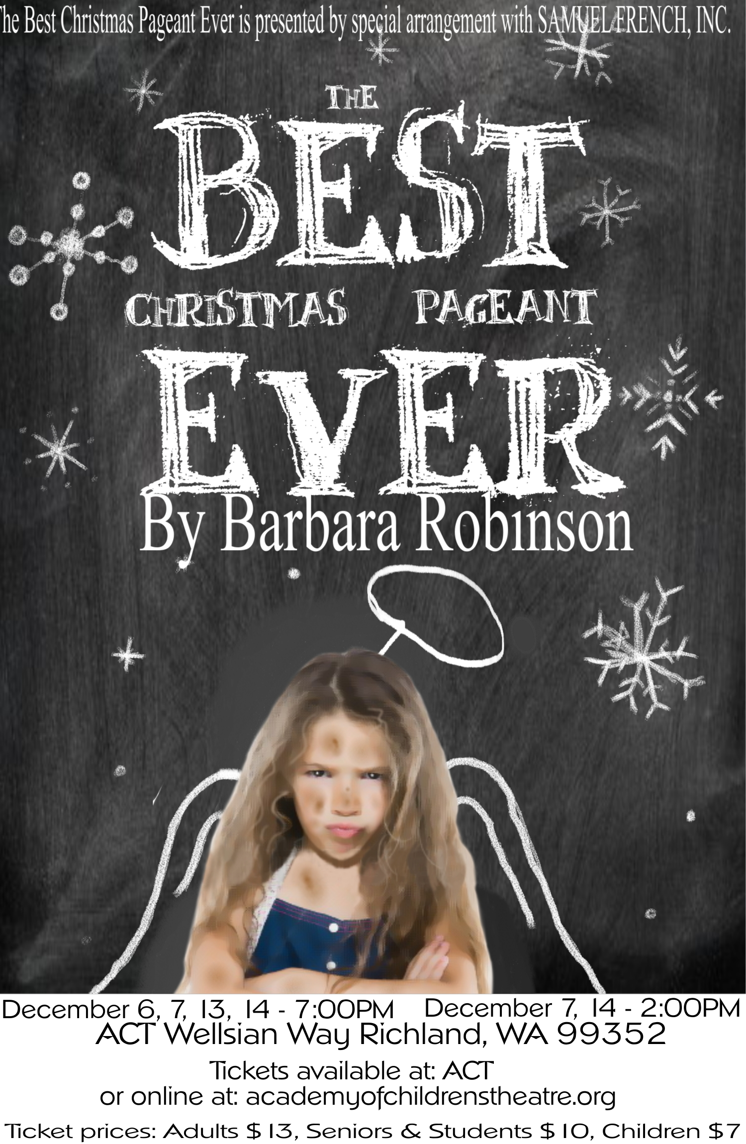 poster best chrismas pageant almost final - The Best Christmas Pagent Ever