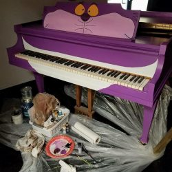 paintaed piano
